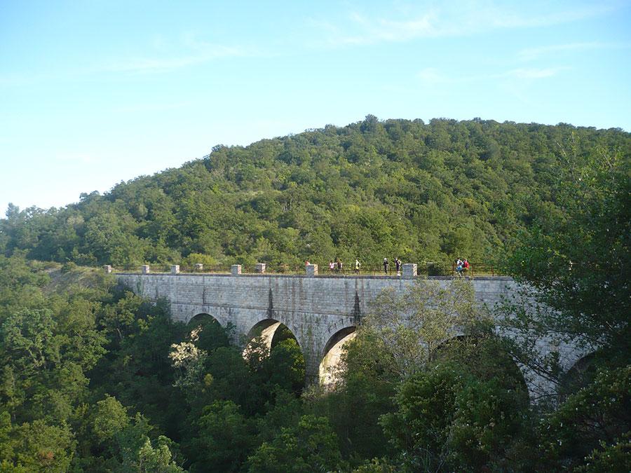 Ponte dell'acquedotto - Canale di Pilo